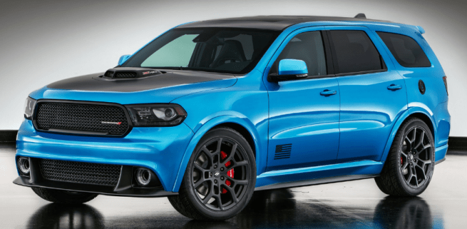 2019 Dodge Durango RT Exterior