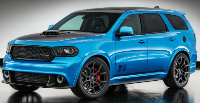 2020 Dodge Durango RT Exterior