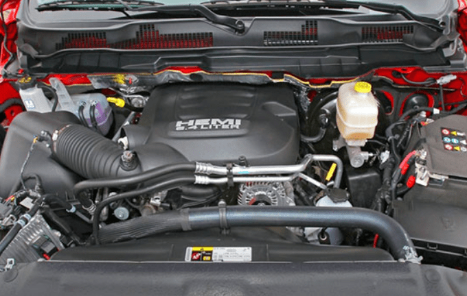 2019 Dodge Power Wagon engine