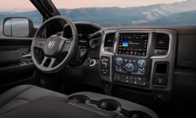 2019 Dodge Power Wagon interior
