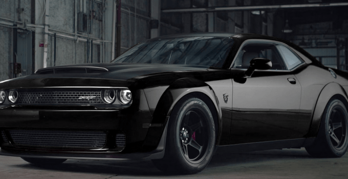 2019 Dodge SRT Demon Exterior