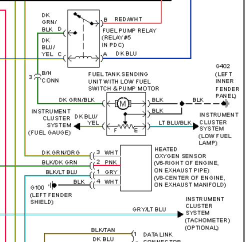 1994 dodge dakota wiring diagram volkswagen touran radio diagrams diy fuel pump or gauge trouble shooting no dial up friendly name dakota93 94 system png views 27172 size 62 7 kb