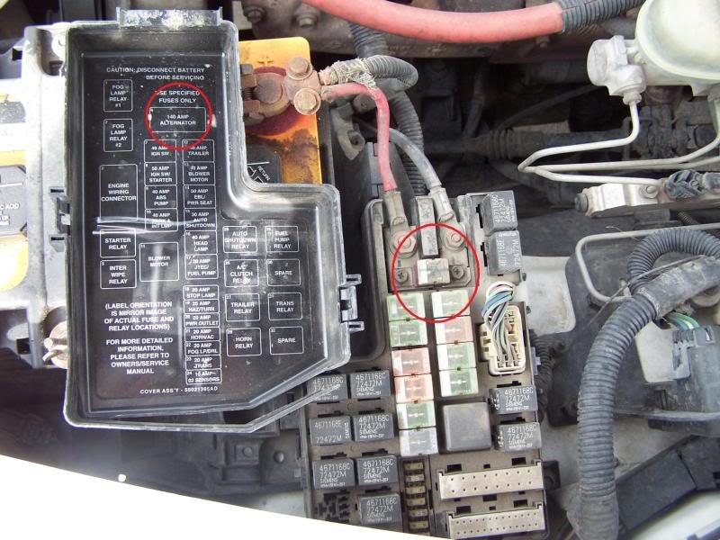 2000 Dodge Neon Fuse Box