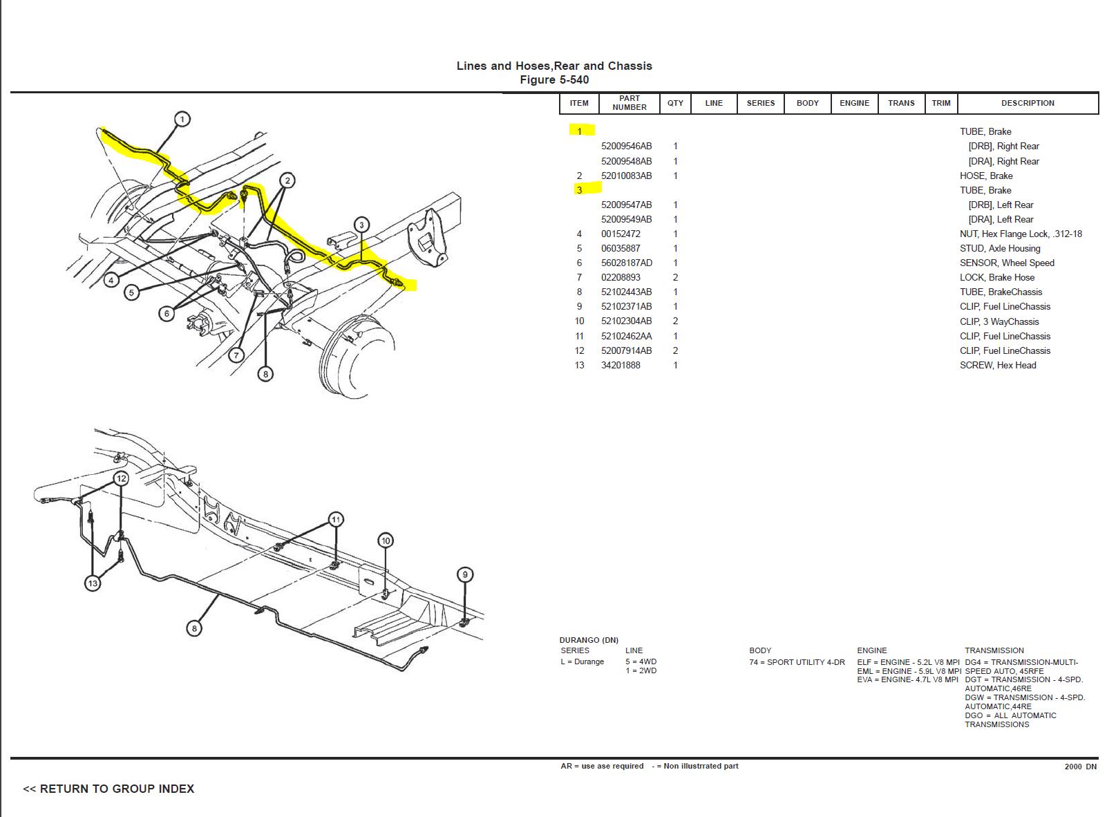 [DIAGRAM] 2001 Dodge Ram 4x4 Wiring Diagram Rear FULL