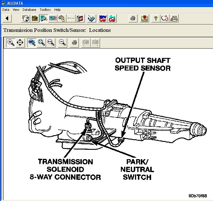 Intrepid Tcm Wiring Diagram I Need To Find Neutral Safety Switch Located Dodgeforum Com