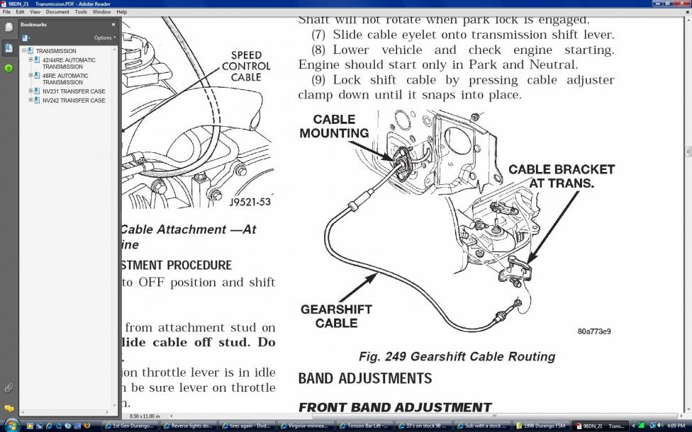 1992 Dodge Dakota Wiring Diagram Reverse Lights Don T Work Dodgeforum Com