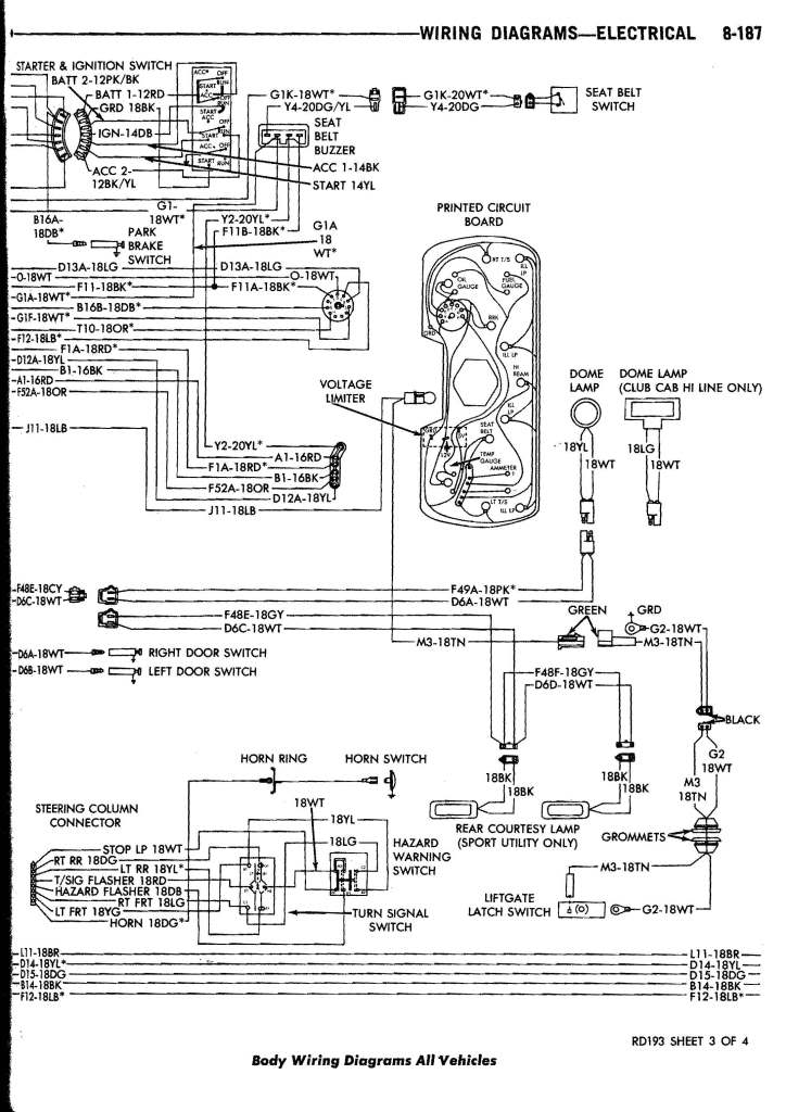 1985 Dodge Truck Wiring Harness : 31 Wiring Diagram Images