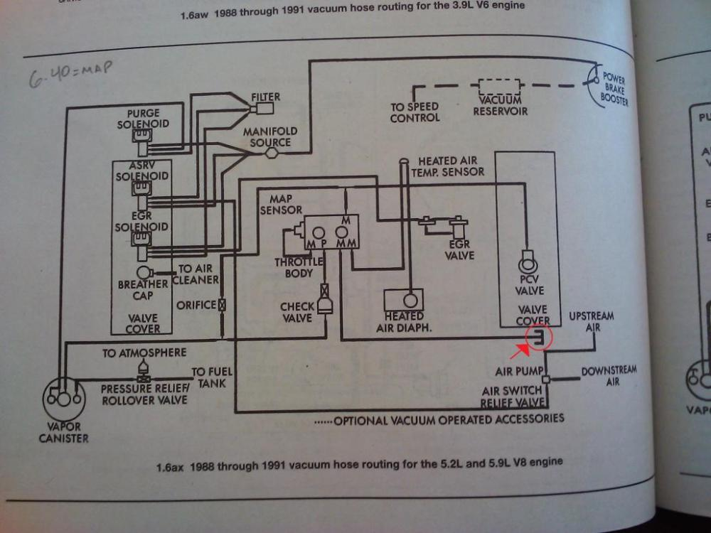 medium resolution of  318 engine vacuum diagram wiring diagram inside on ignition coil schematics engine cooling