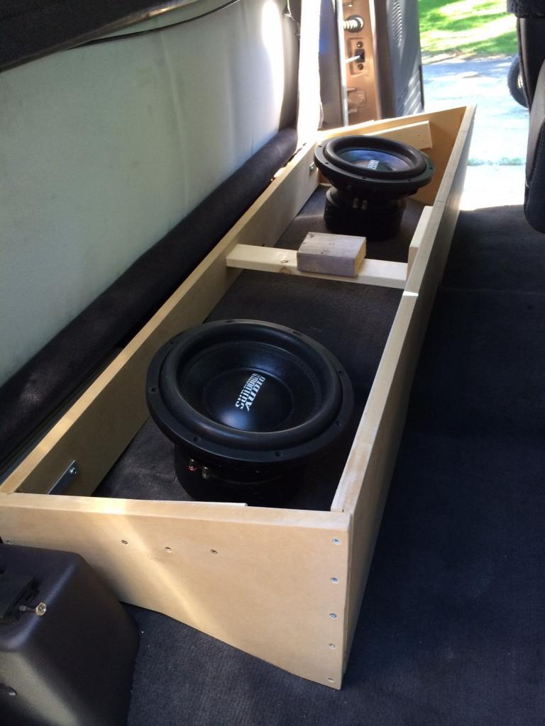 Dodge Ram Under Seat Sub Box : dodge, under, Custom, Subwoofer, Build, DodgeForum.com