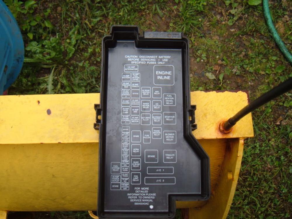 medium resolution of 1996 dodge ram 1500 slt fuse box