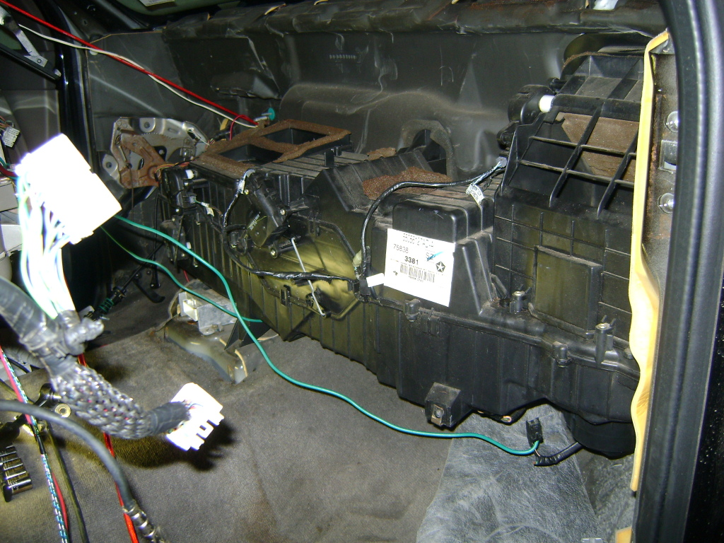 D So I M Preparing For My Dash Removal To Refresh The Hvac System And I Notice Some Dsc on 1997 Dodge Dakota Heater Core