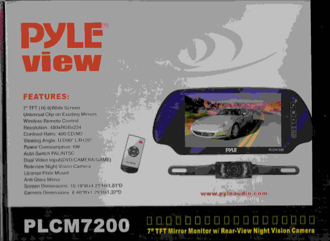 hight resolution of pyle plcm7200 wiring diagram wiring libraryneed help on wiring a rearview mirror backup camera plcm