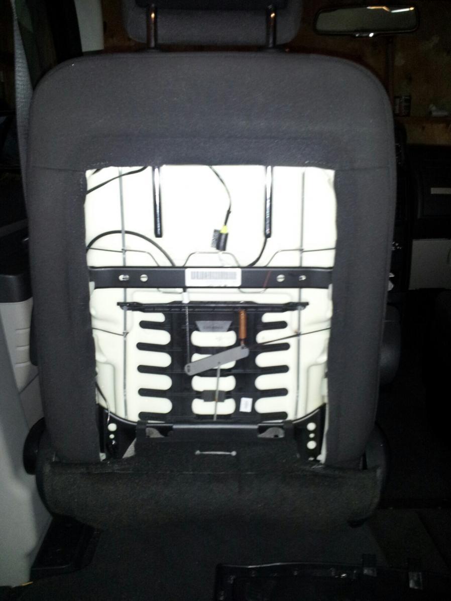Wiring Diagram 2001 Dodge Caravan Caravan Cover On Back Of Front Seat Remove It