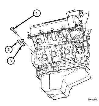 2007 Dodge Nitro P0335 Crankshaft position sensor A