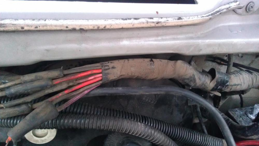 medium resolution of fusible link main wire harness melt through and charging help needed fl