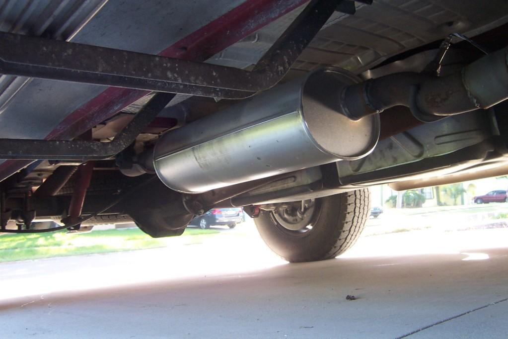 Dodge Durango 36 Converter Location