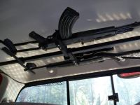 Window mount gun rack