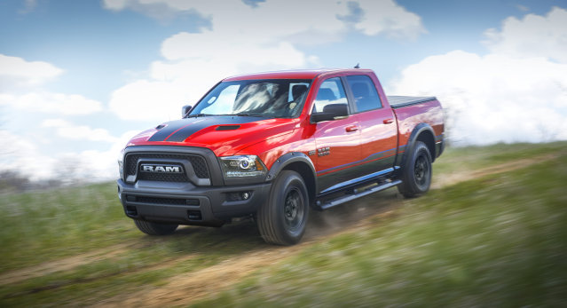 The Mopar '16 Ram Rebel will feature a limited production of just 500 vehicles, equipped with Mopar Custom Shop options.