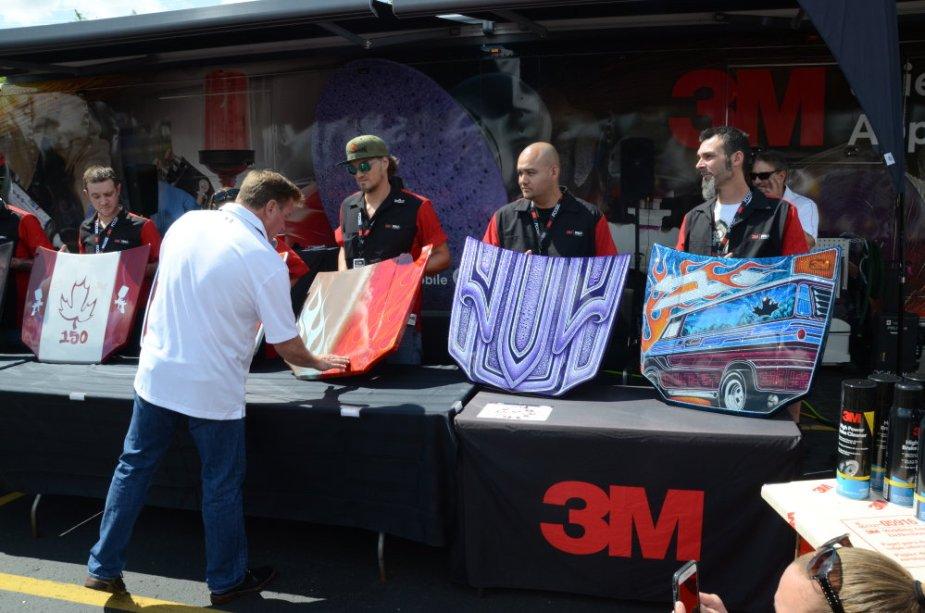 Chip Foose Judges the 3M hoods