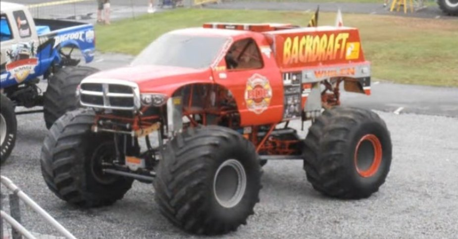 2g Dodge Monster Truck