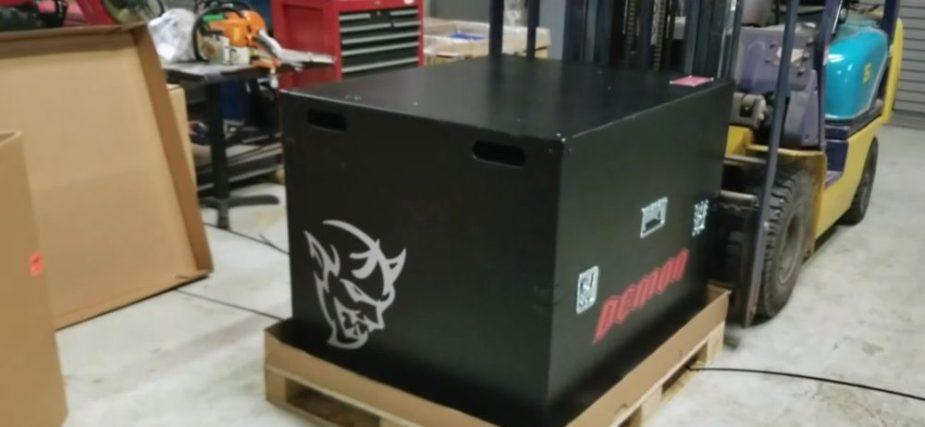 Demon Crate Closed