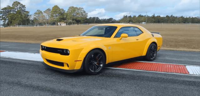 Challenger SRT Hellcat Widebody