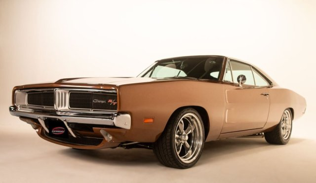 Solomon Hill's 1969 Hellcat Charger Low Front