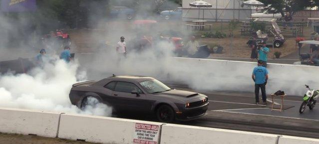 Demon E85 Burnout