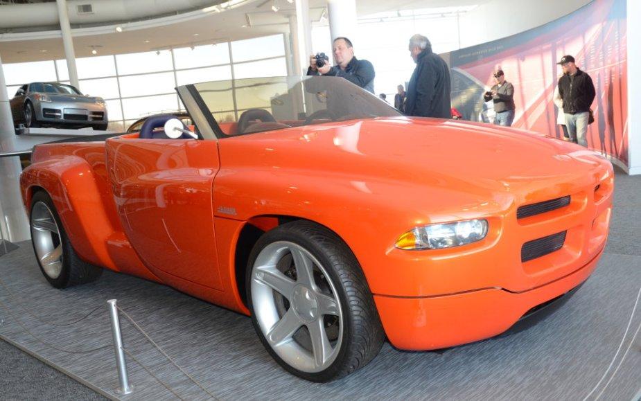 Dodge Sidewinder Viper Low Front Top Down