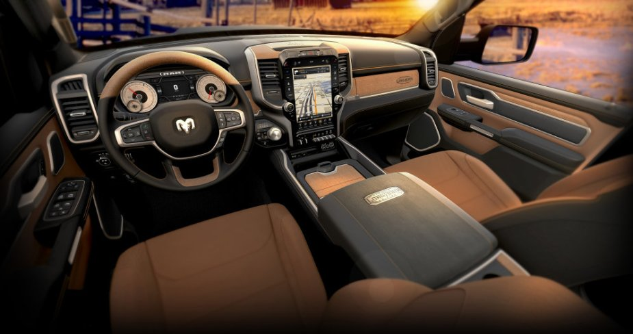 2019 Ram 1500 Laramie Longhorn Two-Tone Interior Overview