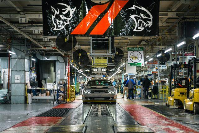 2019 Dodge Challenger SRT Hellcat Redeye models are now rolling