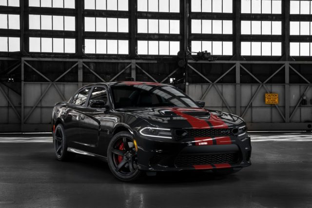 2019 Dodge Charger SRT Hellcat in Pitch Black with new Dual Red