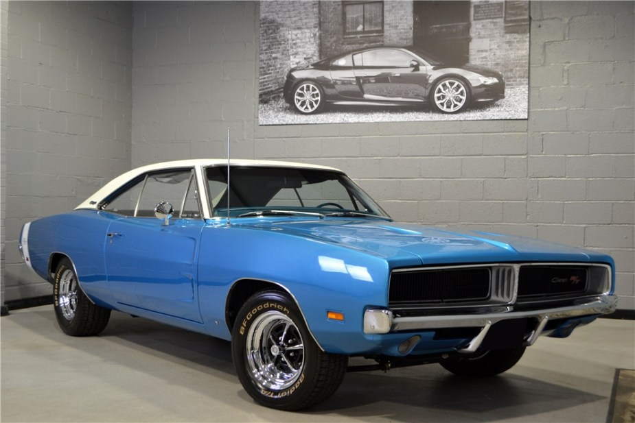 1969 Dodge Charger R/T Front Corner