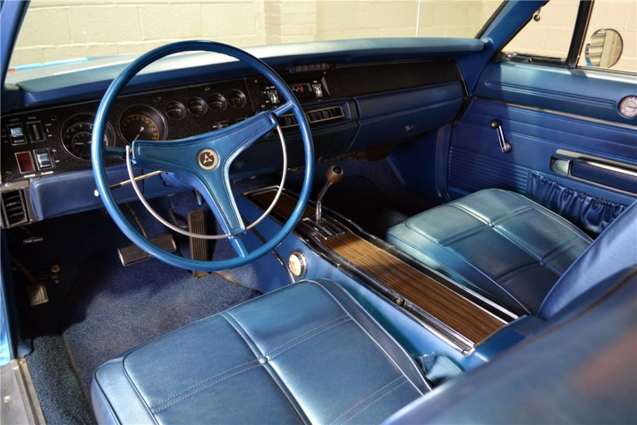 1969 Dodge Charger R/T Interior
