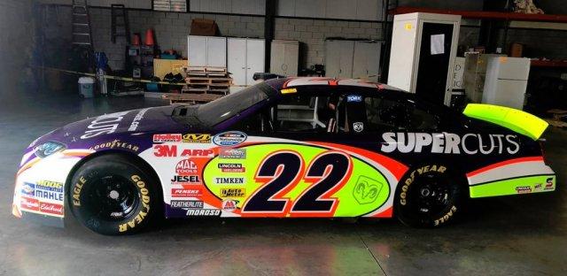 NASCAR Dodge Charger #22 Side