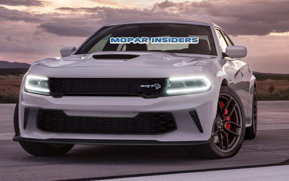 2020 Dodge Charger SRT HELLCAT Widebody Rendering