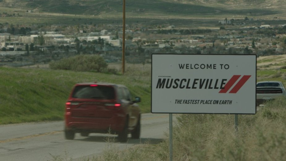 Dodge Muscleville Sign