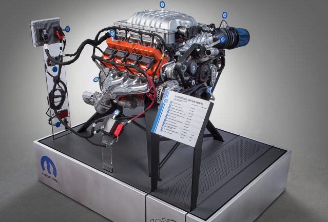 The Mopar brand is unleashing a new Mopar 6.2L supercharged Crat