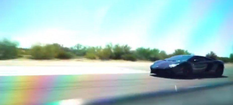 Charger Beats Lamborghini
