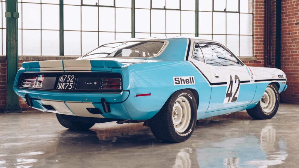 Euro Hemi Cuda Race Car May Be The Best Barn Find Ever