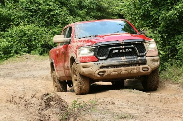 2019 Ram 1500 Rebel at Texas Motor Press Association's Texas Off-Road Invitational