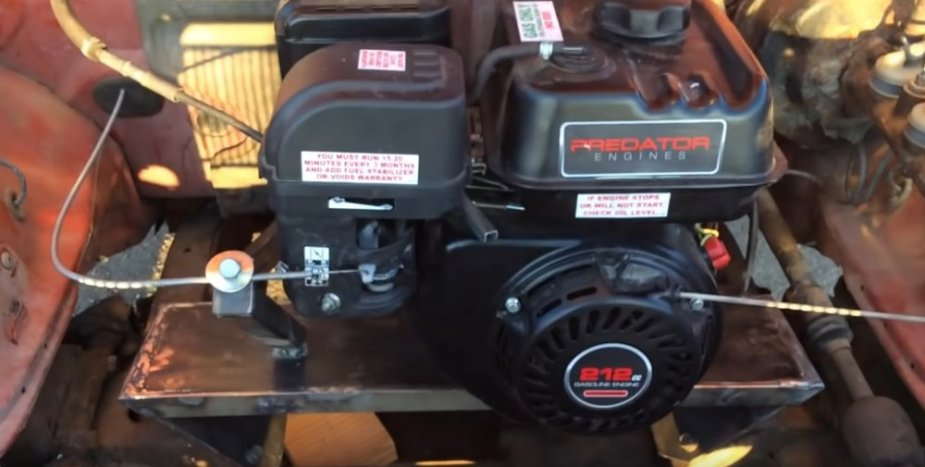 Ram 50 Powered by a 6 5-Horsepower Go Kart Engine Is Bonkers