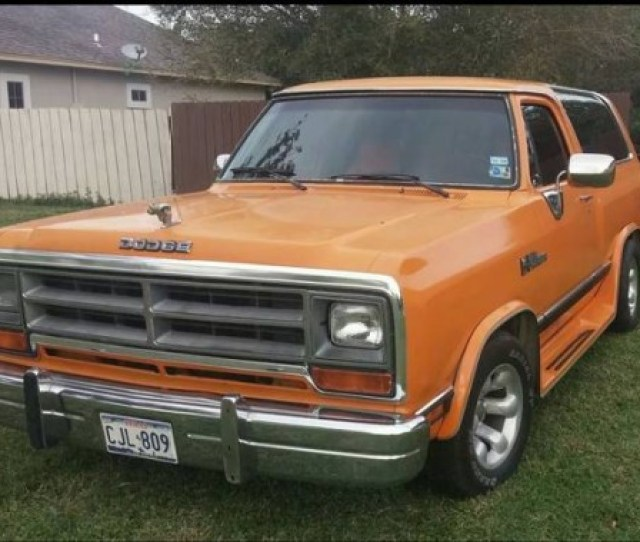 1990 Dodge Ramcharger For Sale In Brownsville Tx