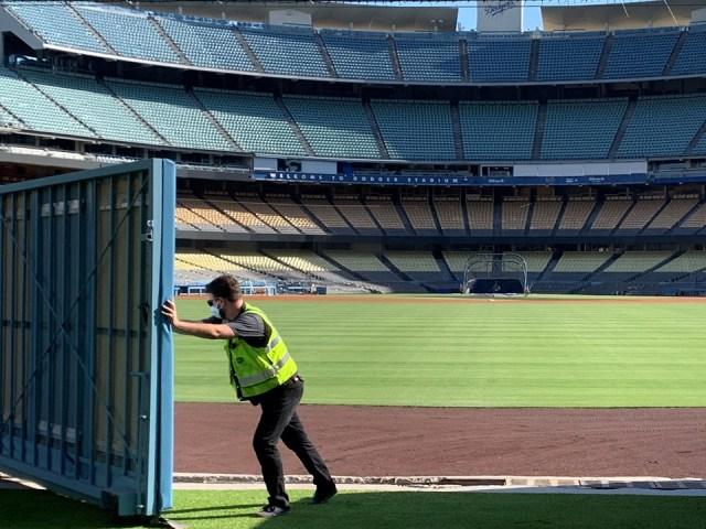 dodger stadium centerfield dodger stadium renovations, centerfield gate, derek o'hara