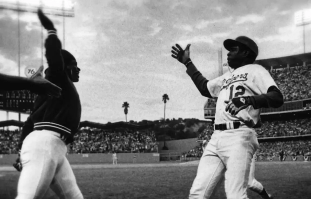 Glenn Burke Dusty Baker First High Five