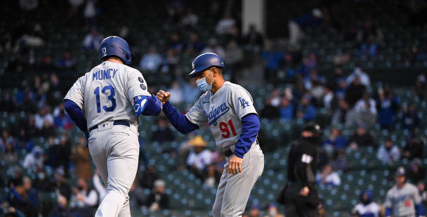 Dodgers Swept By Cubs