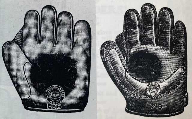 Position Player's historical glove