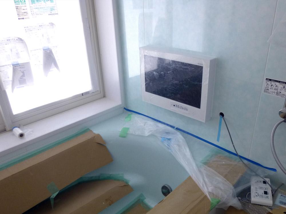 お風呂のテレビ