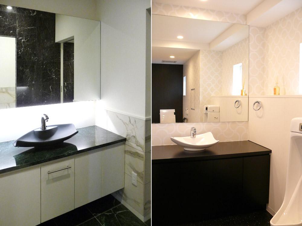 兵庫県・N邸トイレと洗面