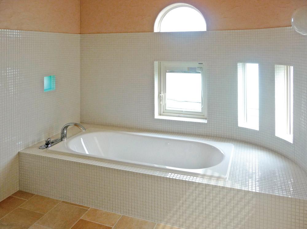 京都府宮津市・39号地モデルハウスバスルーム